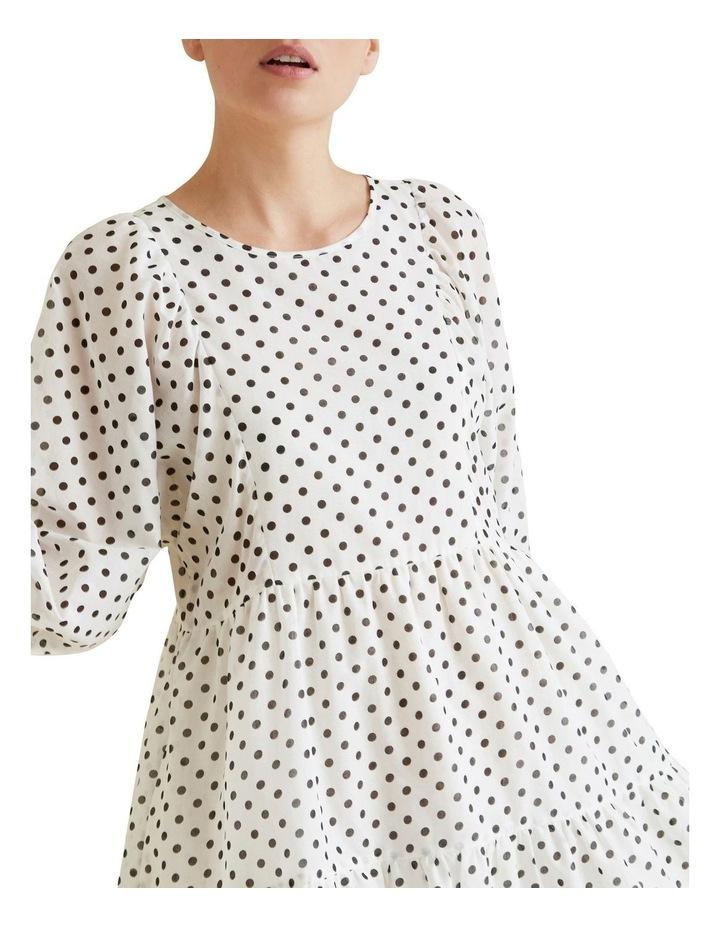 Tiered Spot Dress image 4