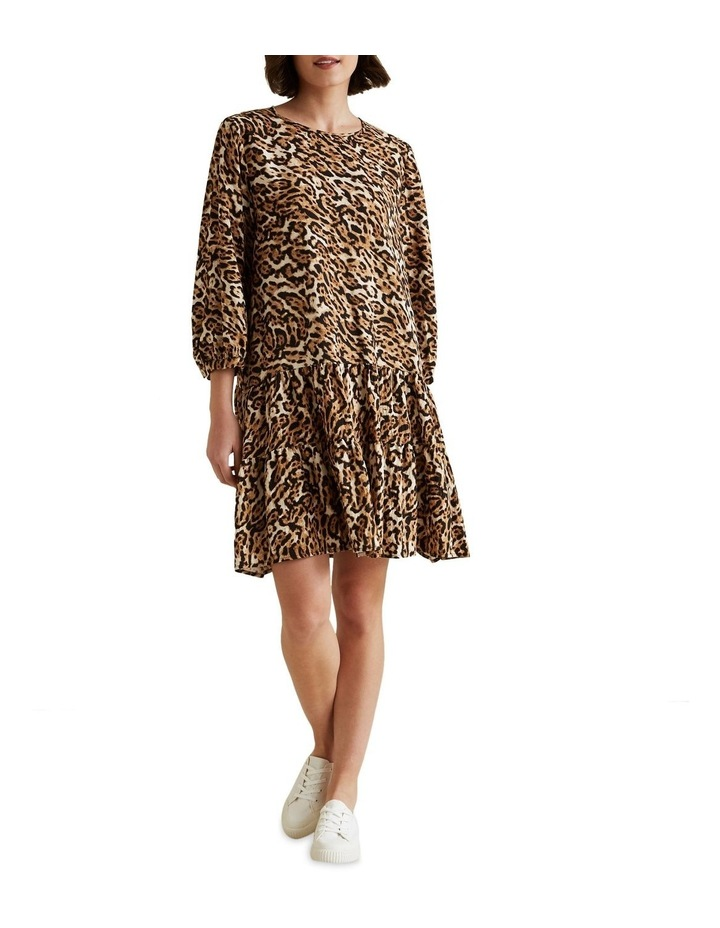 Leopard Swing Dress image 2