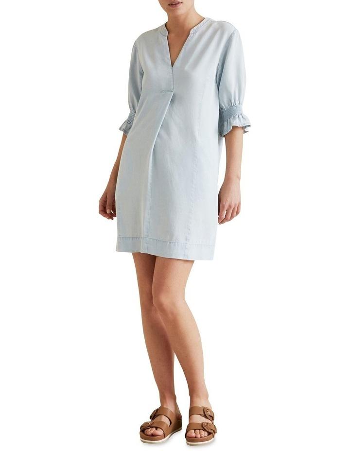 Tencel Shift Dress image 2