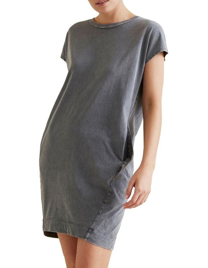Acid Wash Tee Dress image 1