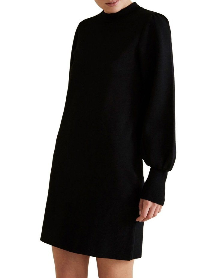Blouson Knit Dress image 1