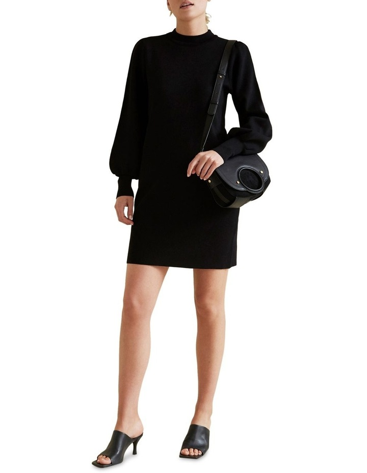 Blouson Knit Dress image 2