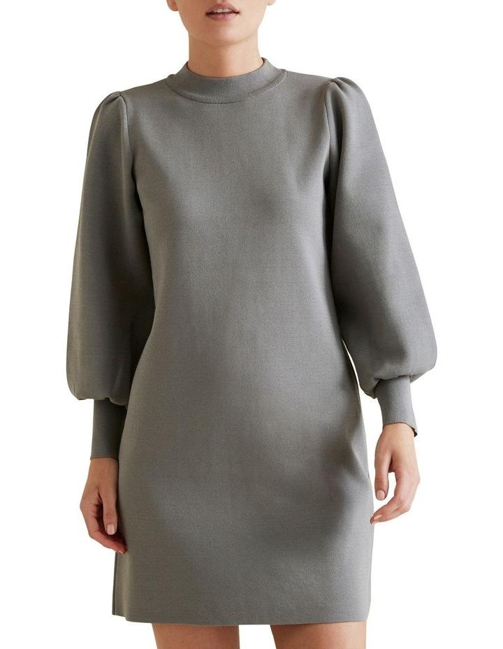 Blouson Knit Dress image 1