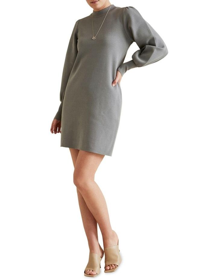 Blouson Knit Dress image 2