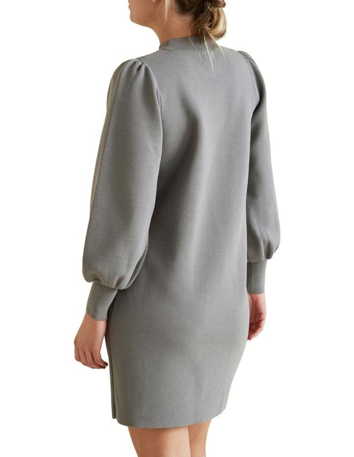 Blouson Knit Dress image 3