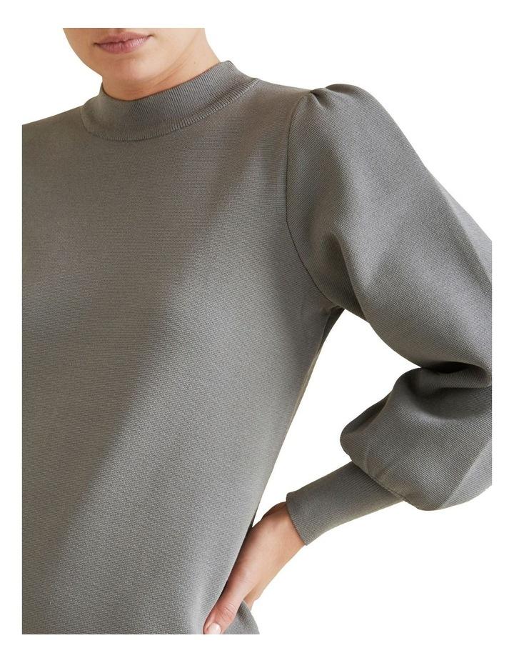 Blouson Knit Dress image 4