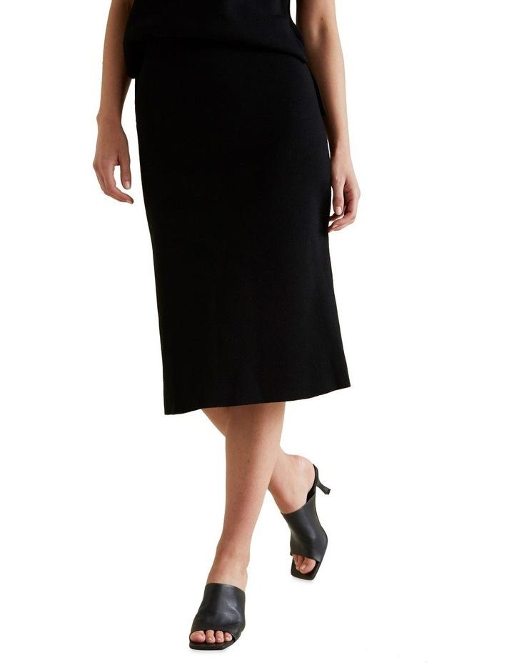 A Line Crepe Skirt image 1