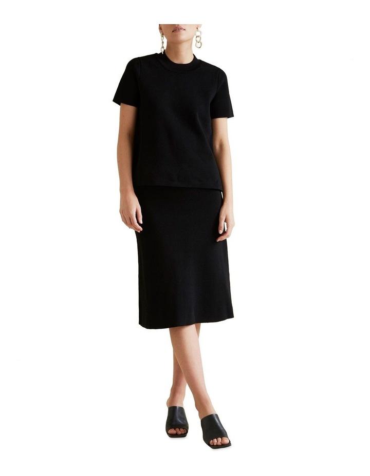 A Line Crepe Skirt image 2