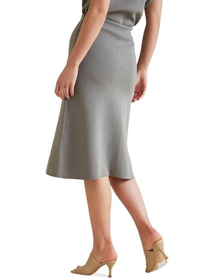 A Line Crepe Skirt image 3