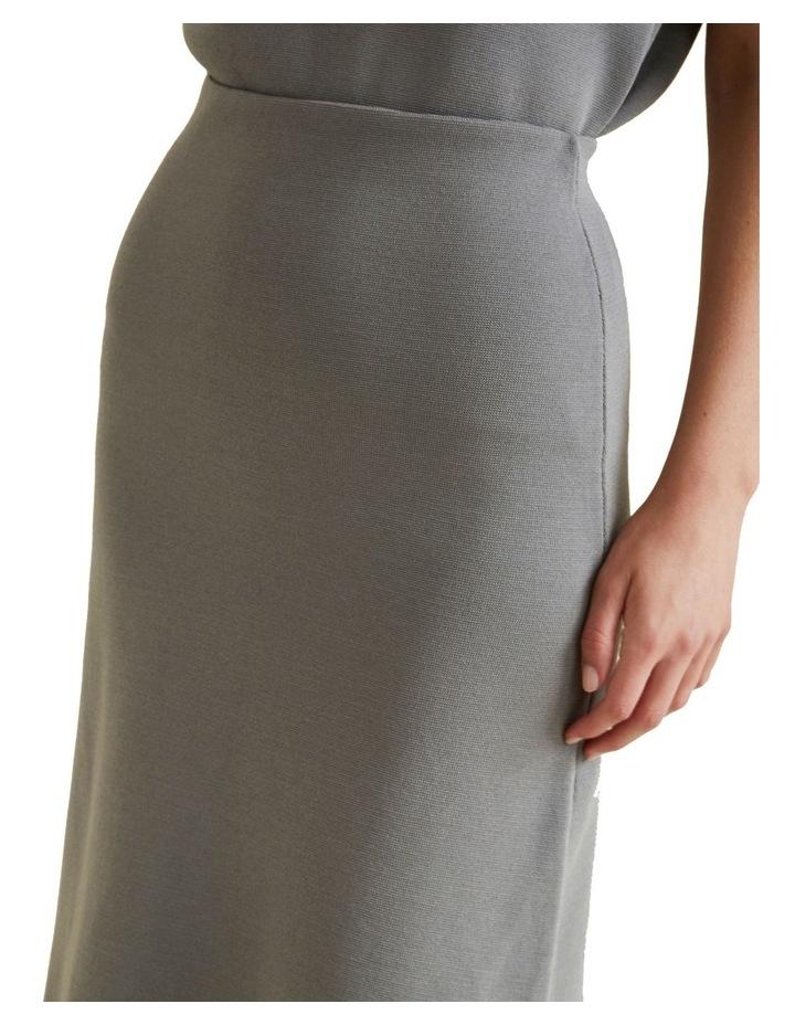 A Line Crepe Skirt image 4