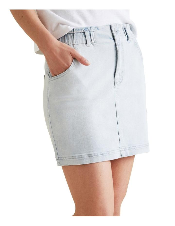 Pull On Denim Skirt image 1