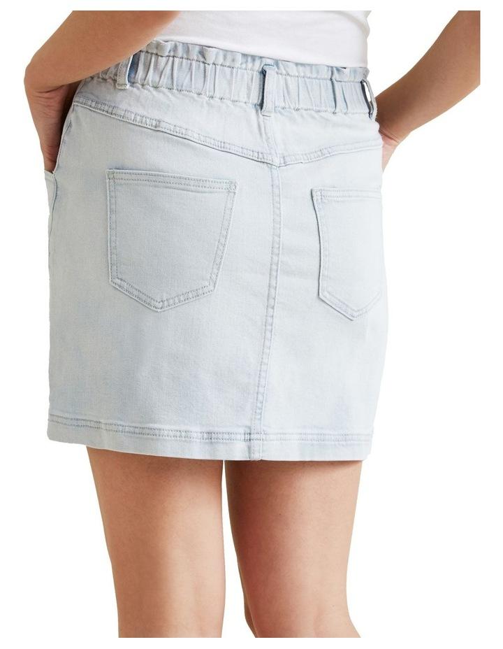 Pull On Denim Skirt image 3