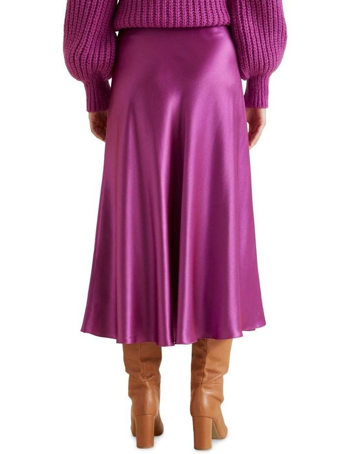 Satin Swing Skirt image 3