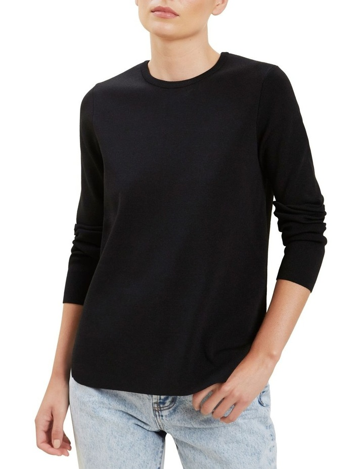 Crepe Knit Sweater image 1