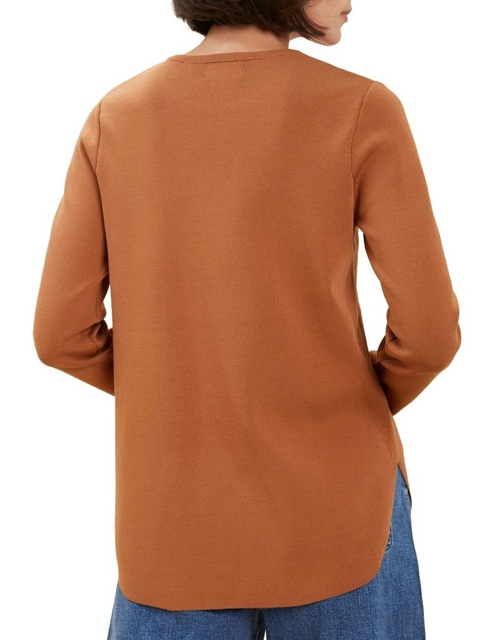 Crepe Knit Sweater image 3
