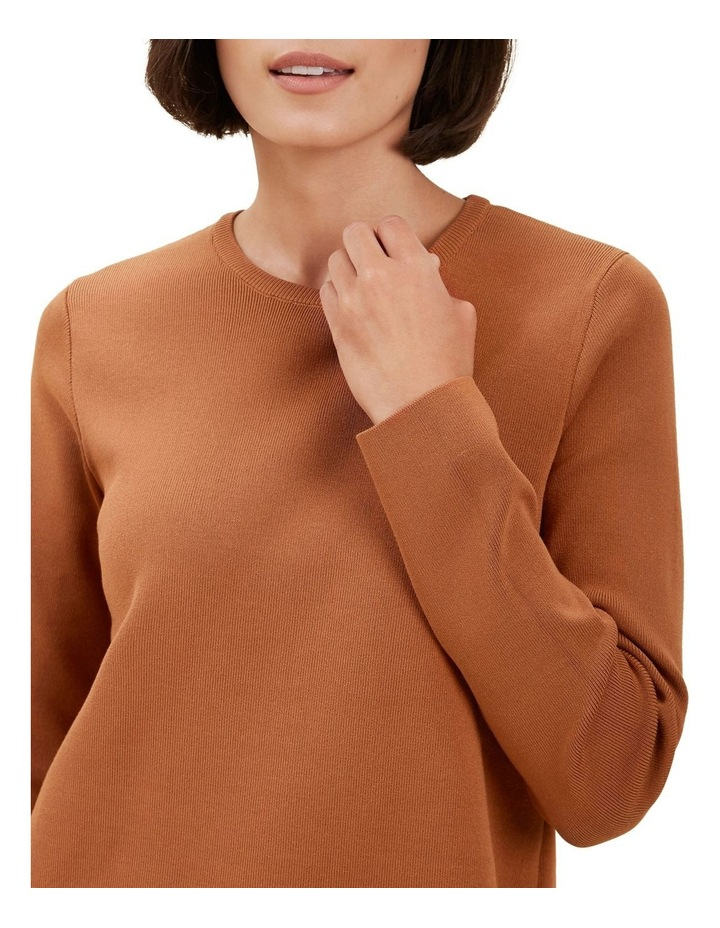 Crepe Knit Sweater image 4
