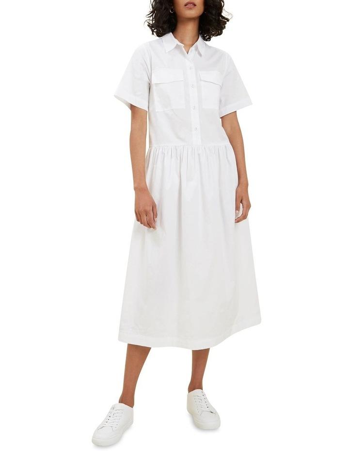 Boxy Shirt Dress image 1