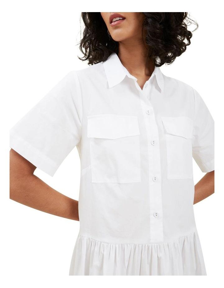Boxy Shirt Dress image 4