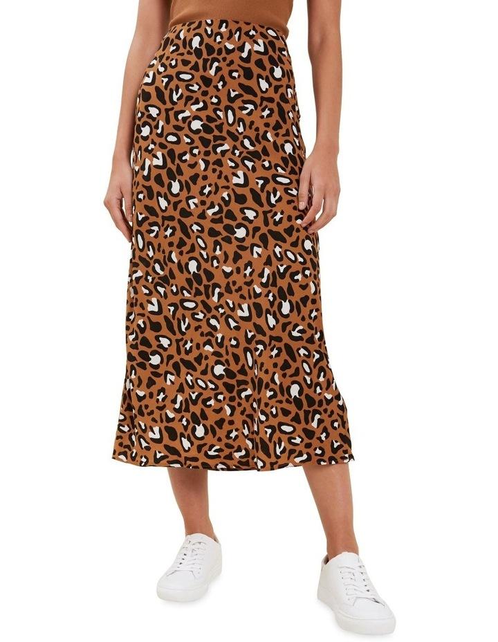 Textured Ocelot Skirt image 1
