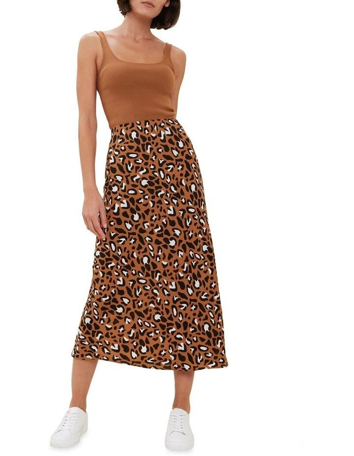 Textured Ocelot Skirt image 2