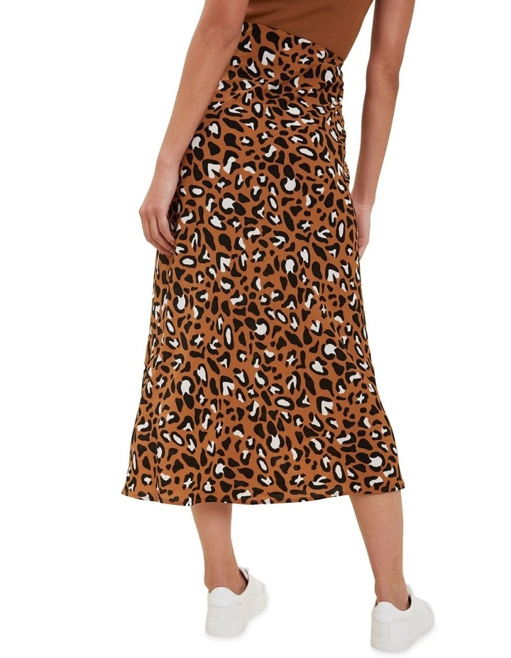 Textured Ocelot Skirt image 3