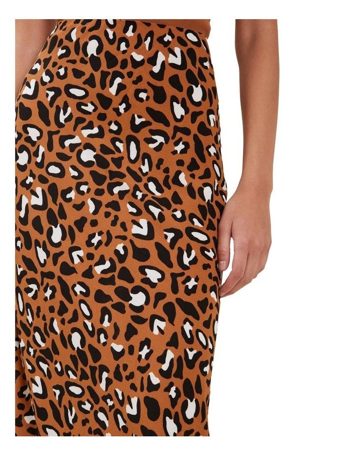 Textured Ocelot Skirt image 4