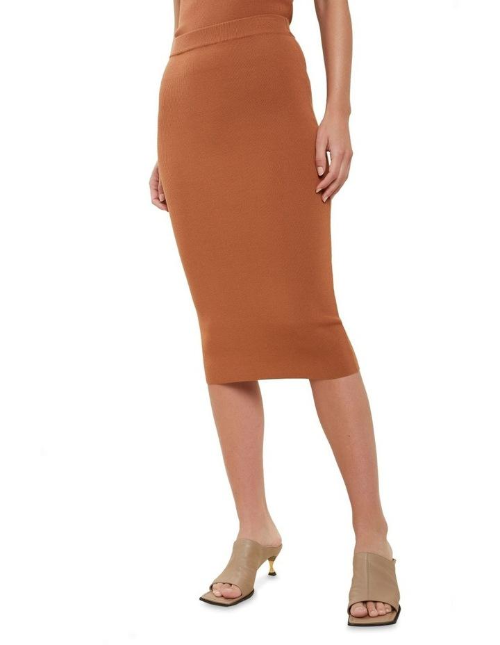 Crepe Knit Pencil Skirt image 1