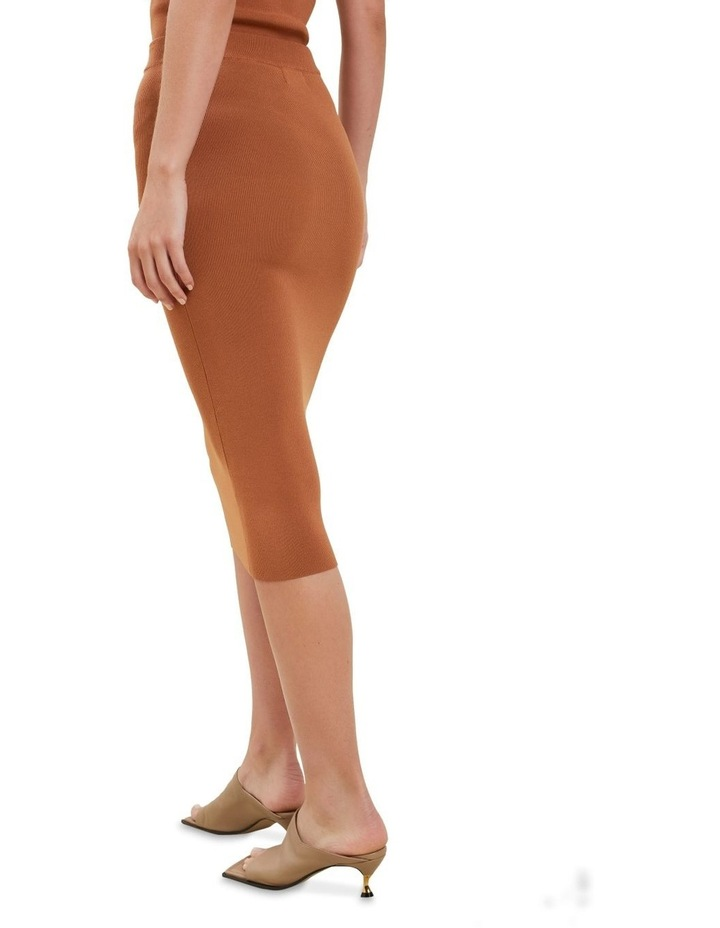 Crepe Knit Pencil Skirt image 3