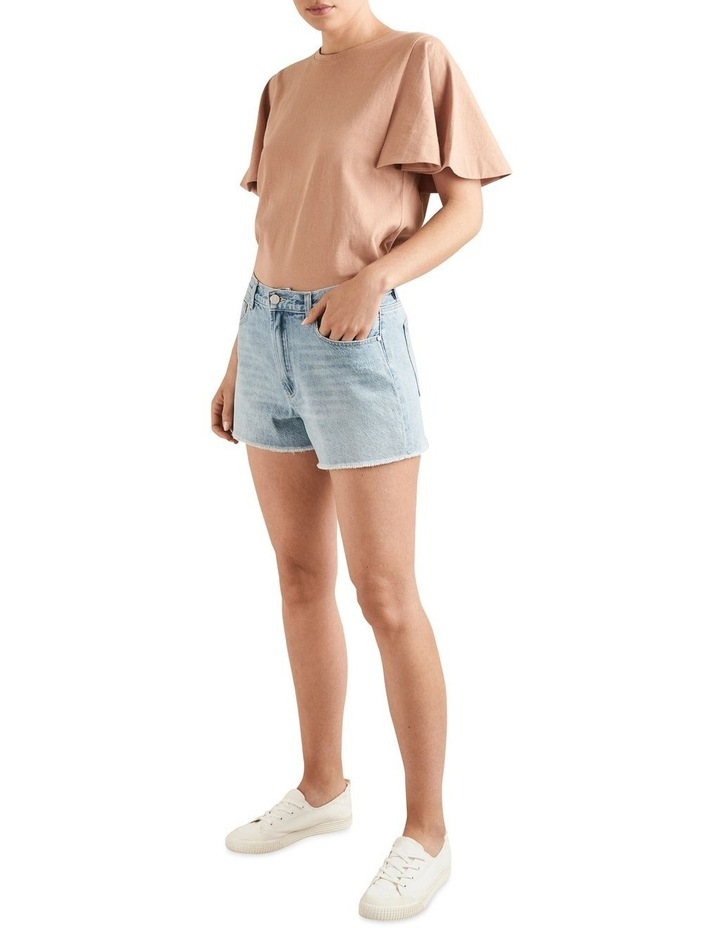 Rigid Denim Shorts image 2