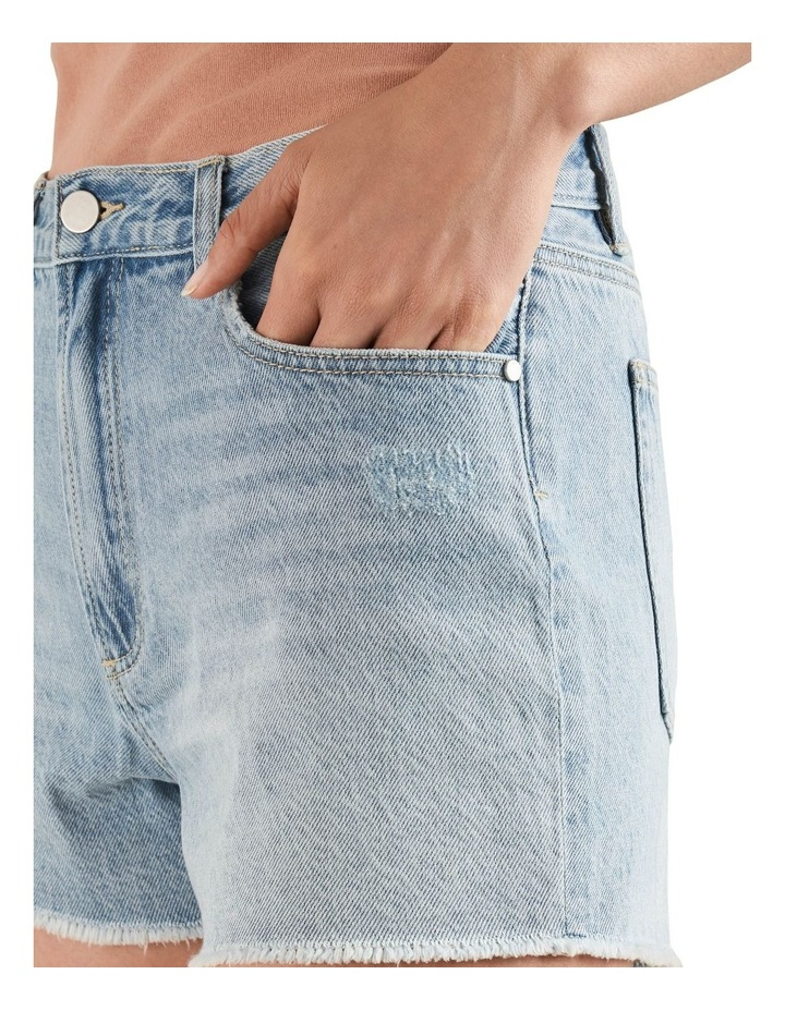 Rigid Denim Shorts image 4
