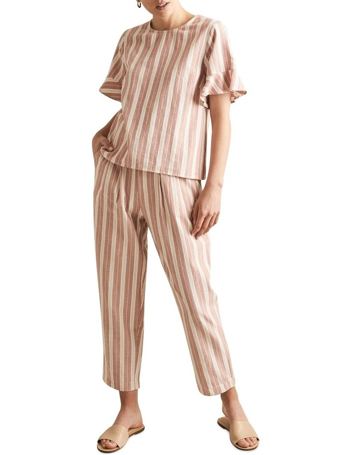 Boho Stripe Blouse image 2