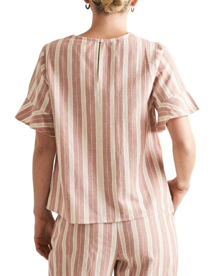 Boho Stripe Blouse image 3
