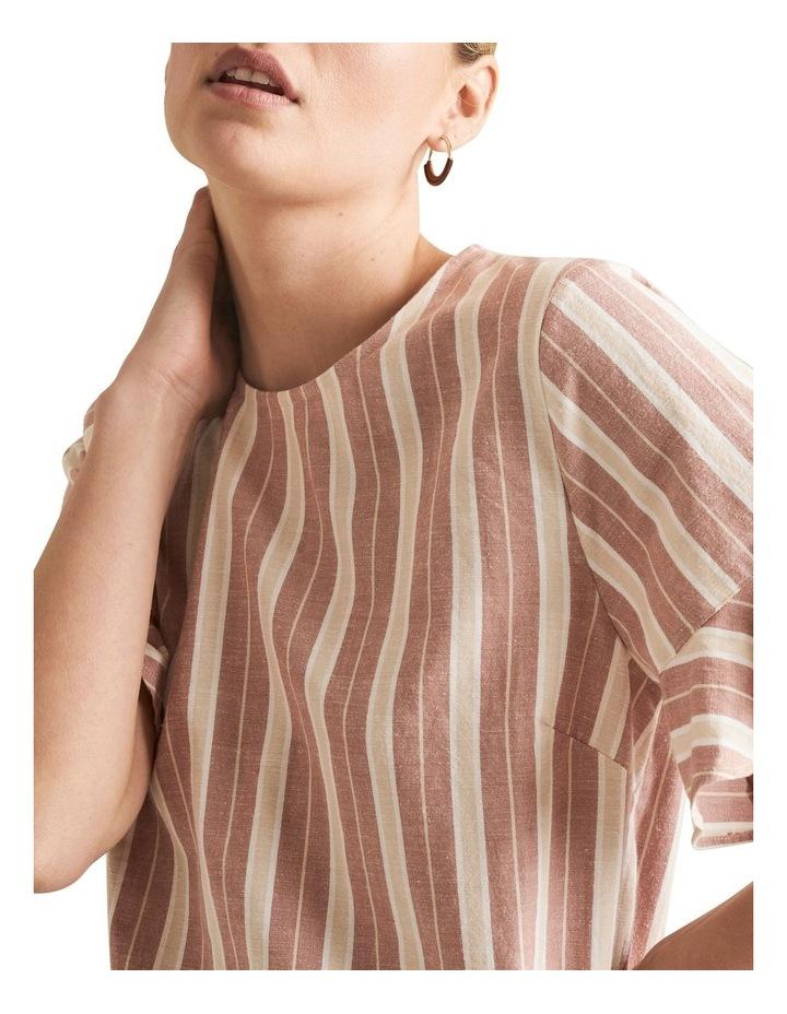 Boho Stripe Blouse image 4