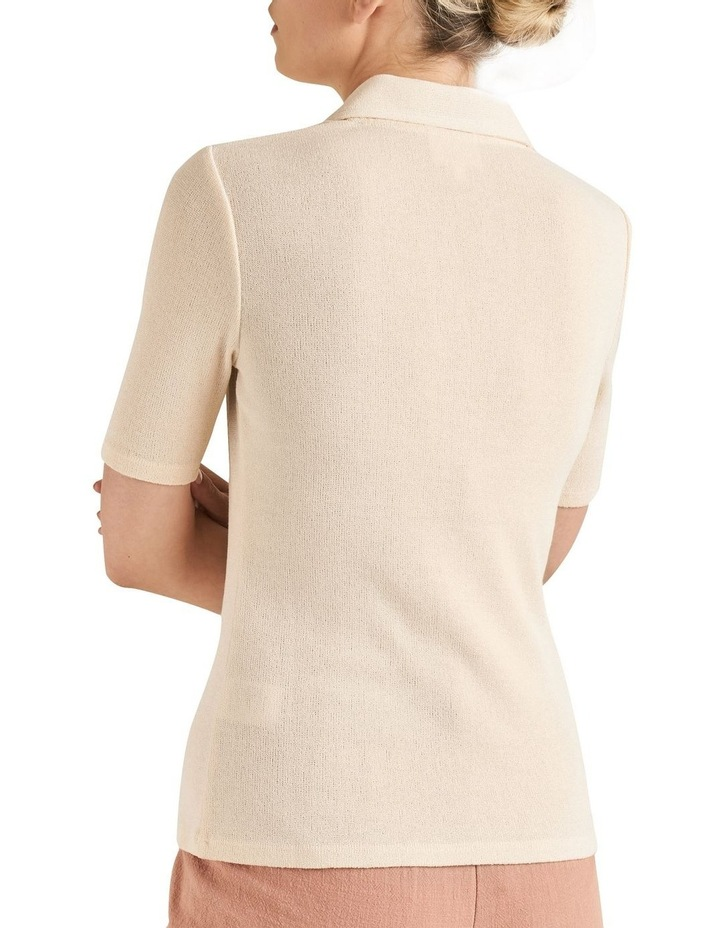 Short Sleeve Collared Top image 3