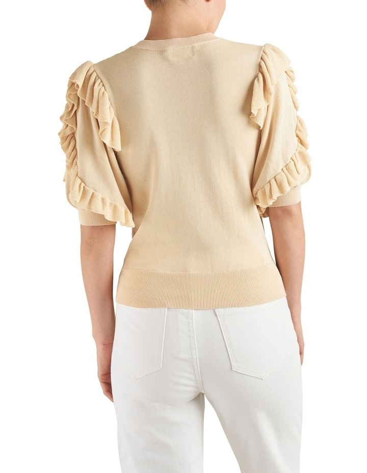 Frill Sleeve Knit image 2