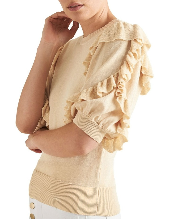 Frill Sleeve Knit image 3