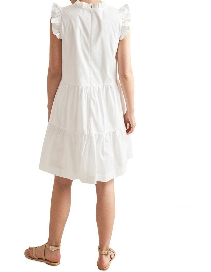 Ruffle Sleeve Cotton Dress image 3