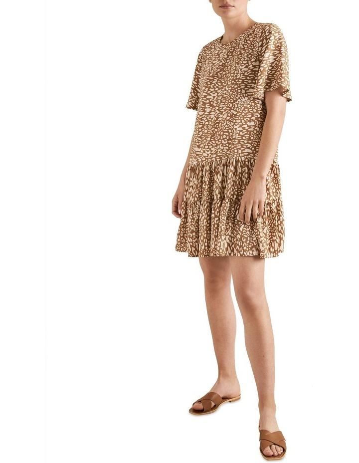 Drop Waist Animal Dress image 2