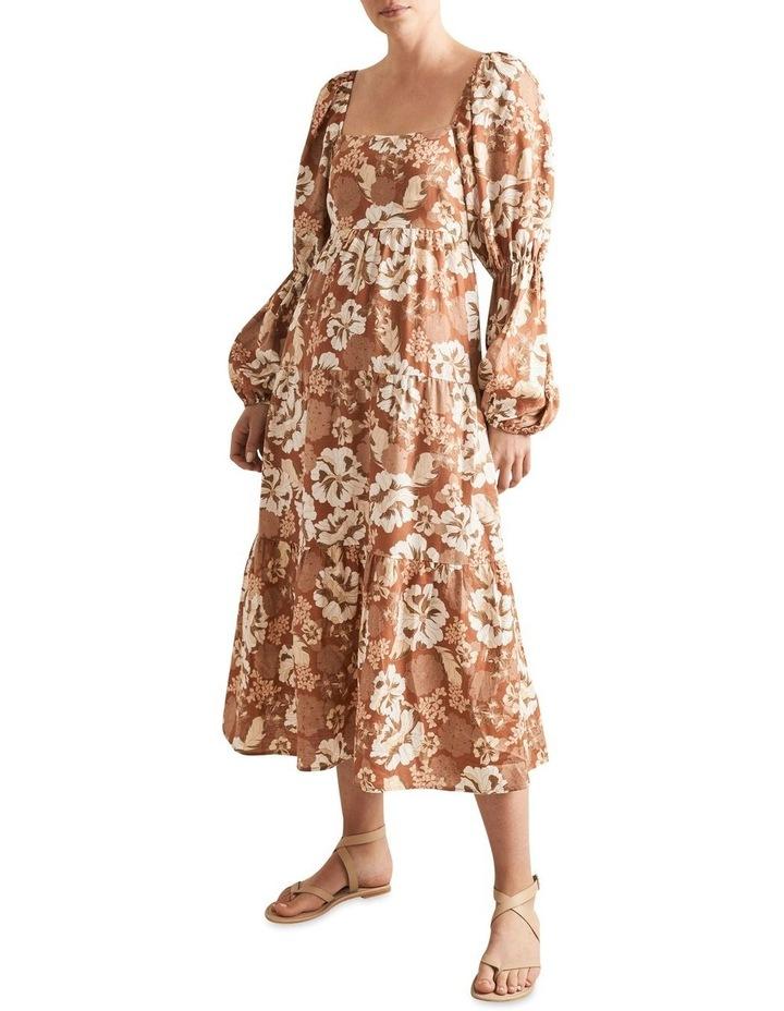 Blouson Midi Dress image 1