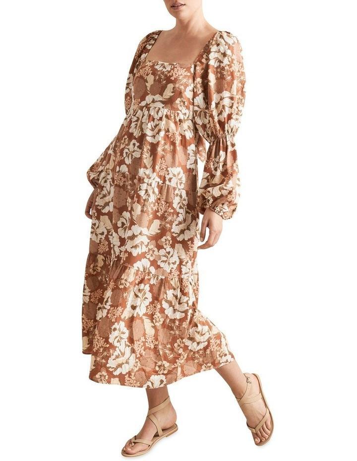 Blouson Midi Dress image 2