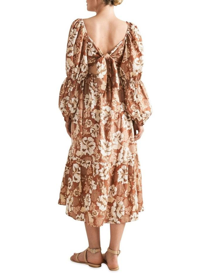 Blouson Midi Dress image 3