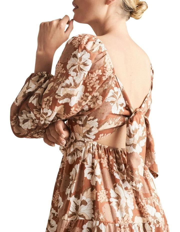 Blouson Midi Dress image 4