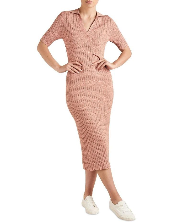 Space Dye Knit Dress image 1