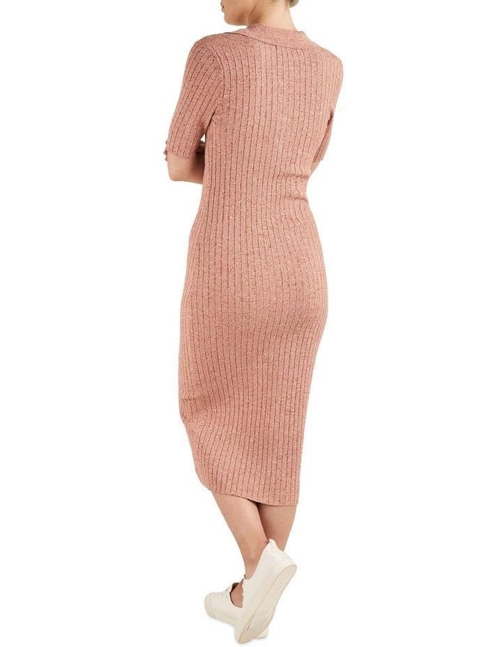 Space Dye Knit Dress image 2