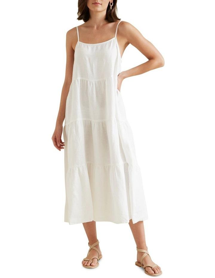 Tiered Linen Dress image 1