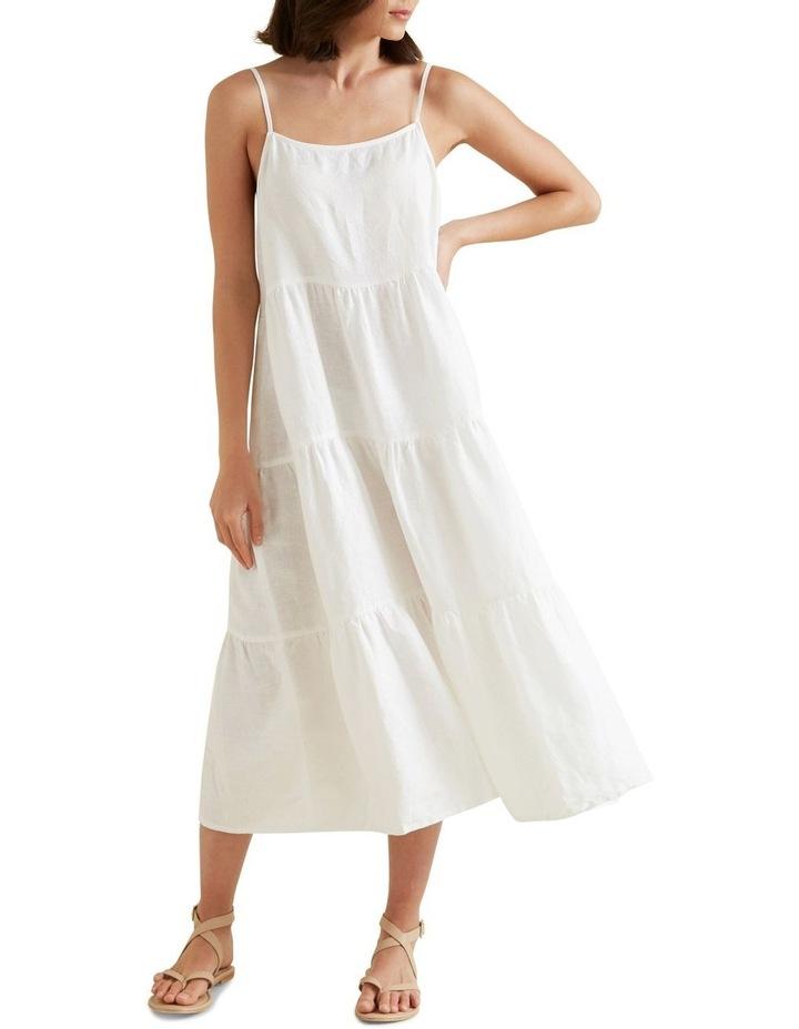 Tiered Linen Dress image 2