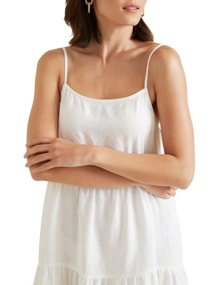 Tiered Linen Dress image 4