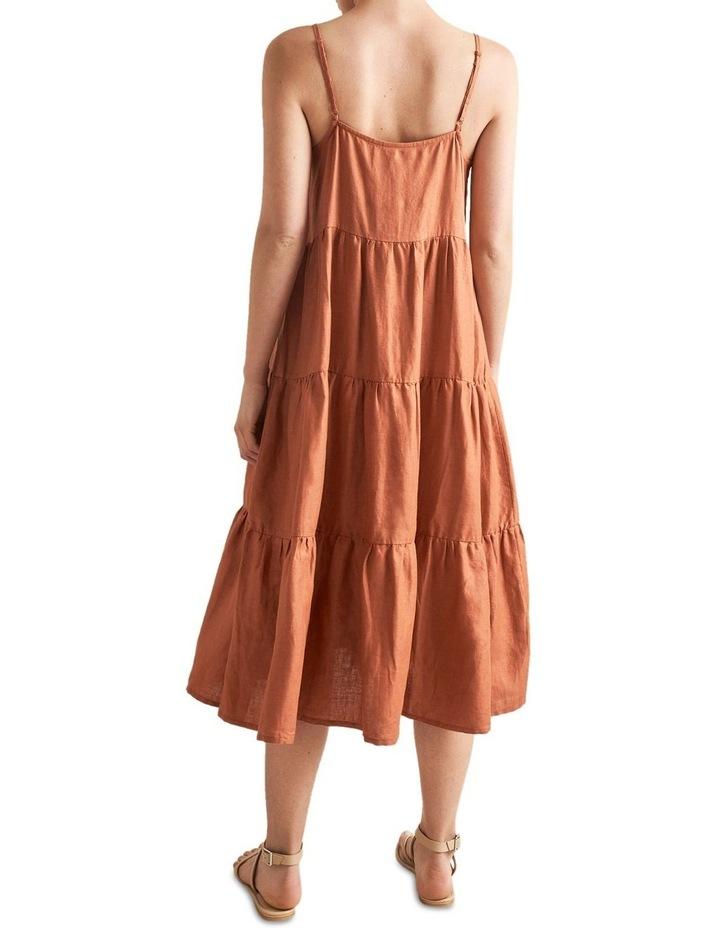 Tiered Linen Dress image 3