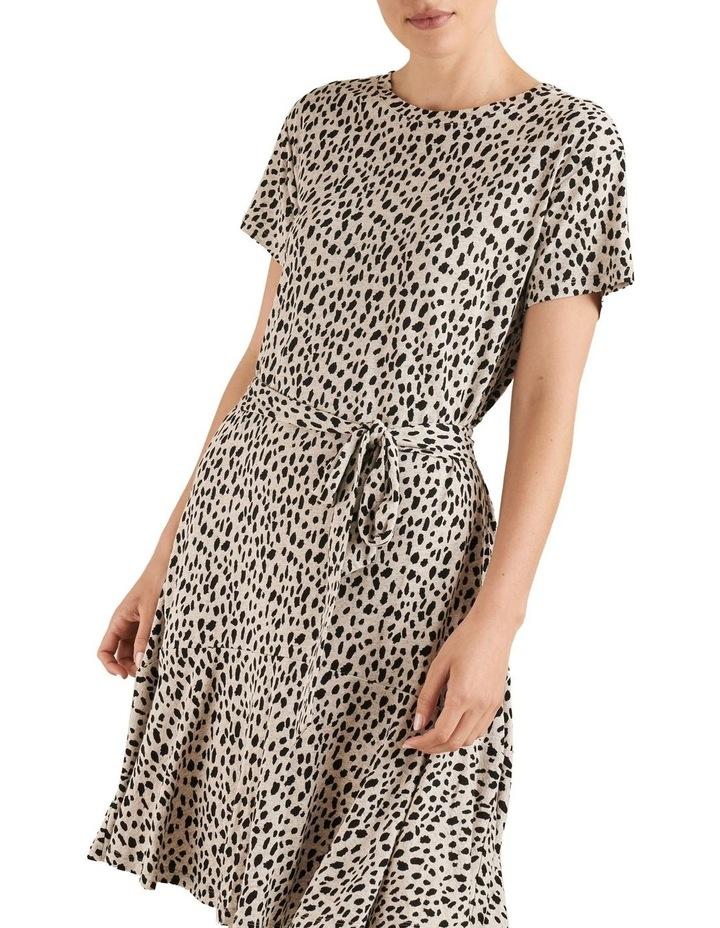 Ocelot Jersey Dress image 1