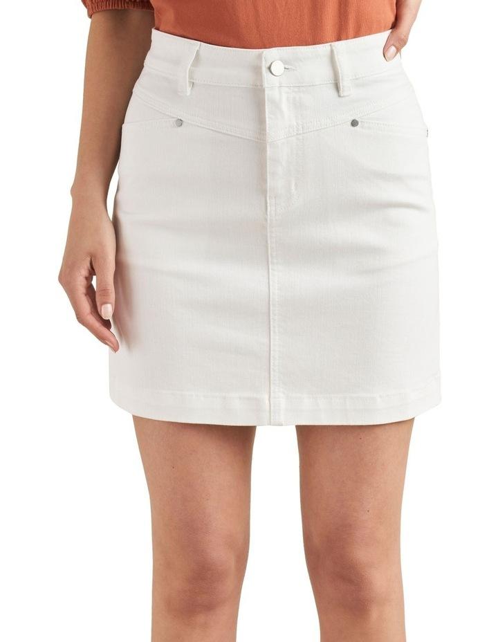 Denim Mini Skirt image 1
